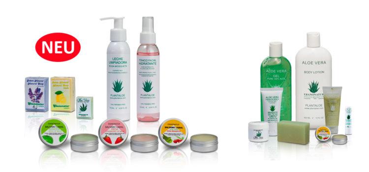 Neue Aloe Vera Produkte von Ebanonatur aus Spanien